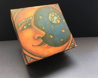 Moon Treasure Box
