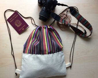 Ethnic Rucksack Backpack