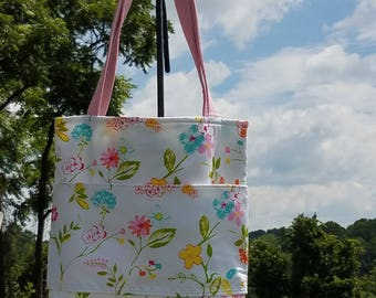 Floral Purse/ Tote Bag