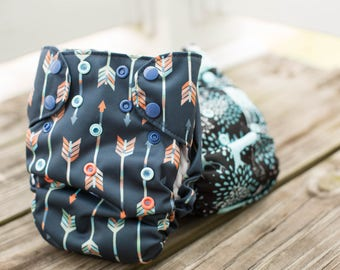 Custom UnderTogs All in One Cloth Diaper - Choose Your Solid