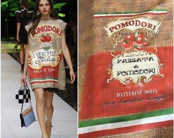 Dolce&Gabbana fabric linen