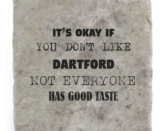 It's OK if you don't like Dartford Marble Tile Coaster