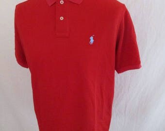 Polo Ralph Lauren red size XL new with-52%