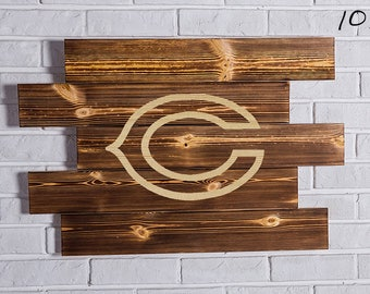 Chicago Bears Wood Sign  Chicago Bears Wall art  Chicago Bears Gift  Chicago Bears Birthday  Chicago Bears Party wooden