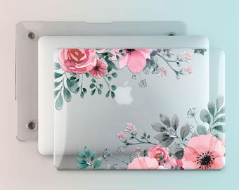 Floral Macbook Case Poppies Macbook Cover Flower Macbook Pro Retina 13-inch Case Macbook Pro Cover Macbook Air Hard Case 13 Inch Case m011
