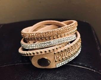 Wrap bracelet/choker (more colors available)