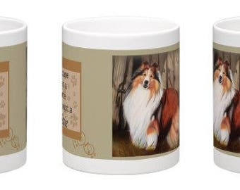 Cup Sheltie, dog Cup, Sheltie mug, coffee cup, coffee cup, mug, Sheltie Dog Dog Sheltie