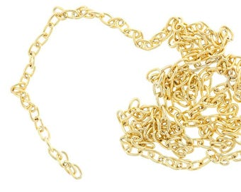 Chain Zamak bathed in gold