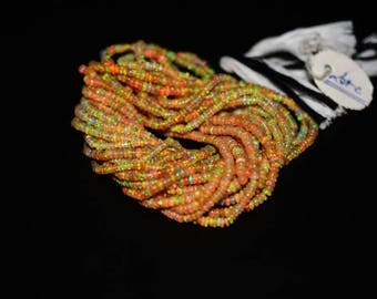 AAA Quality Natural ETHIOPIAN OPAL Rondelle Plain Beads / 2.5-3.5 mm /16 inch