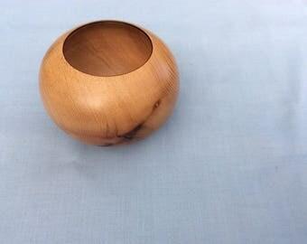 Hand made Small elm bowl