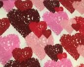 Hearts Galore Cloth Dinner Napkins