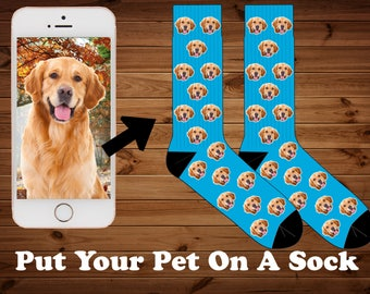 Pet Photo Socks, animal socks, photo dog socks, Dog And Cat Photo Socks, Your Dog On A Sock, Put your photo on a sock, Funny Socks, dog sox