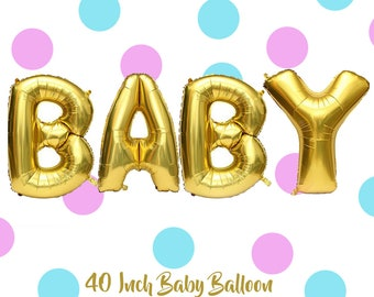 "Giant 40"" Baby Balloon"