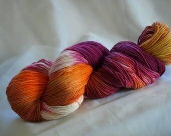 Lanartus Fine Merino socks, 4-fold, hand-dyed stainless socks wool
