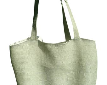 Light Green Bag/Tote/Carry On/Grocery Bag/Purse/Gym Bag