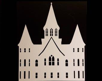 Vinyl Temple Sticker