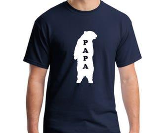 Dad papa bear t-shirt gift-Gift father t-shirt-Papa bear t-shirt -Men's gift t-shirt-Dad gift t-shirt-Father gift t-shirt-Fathers day tee