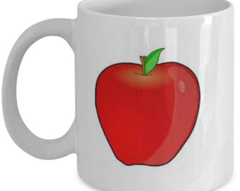 Apple novelty coffee mug