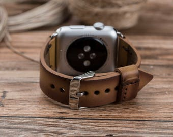 Leather Apple Watch Band, 38mm, 42mm, iwatch band, Leather Apple watch strap, iwatch band 42mm, iwatch band 38mm, watch leather strap#DEEP-5