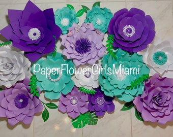 Giant Paper Flowers (customize the size, color and quantity)