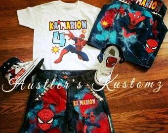 Spider-Man customs
