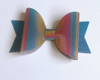 Rubber silicone colour changing medium Dolly bow