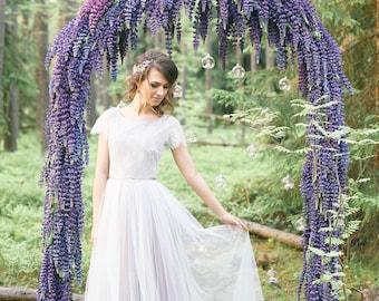 Spring flower || wedding dress