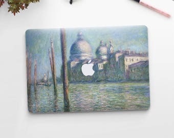 "Claude Monet, ""Le Grand Canal"". Macbook Pro 15 skin, Macbook Pro 13 skin, Macbook 12 skin. Macbook Pro skin. Macbook Air skin."