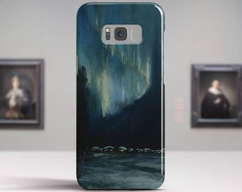 """Sydney Laurence, """"The Northern Lights"""". Samsung Galaxy S6 Case LG G5 case Huawei P9 Case Galaxy A5 2017 Case and more. Art phone cases."""