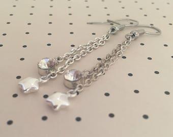 Erika Star Earrings