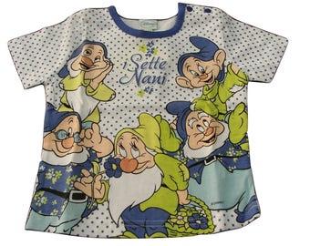 Baby tshirt short sleeve t-shirt 18 seven months (86 cm) pois