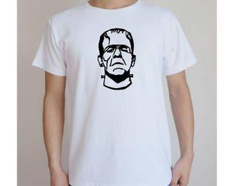 Frankenstein Monster Kids Toddler Children T Shirt Many Sizes Colors Custom Horror Halloween Merch Massacre
