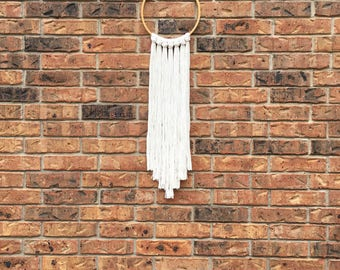 Cross Stitch Hoop Wall Hanging