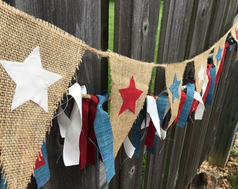Celebrate America Banner // Fourth of July Decorations