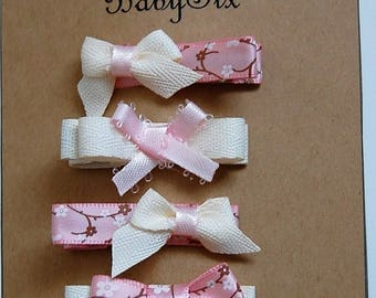 Baby Flowers clip set