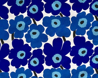 Marimekko Blue Pillow Case