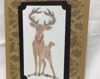 Deer in th woods