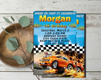 Hot Wheels Invitation,Hot Wheels Birthday Invitation,Hot Wheels Birthday,Hot Wheels Invitation Printable,Hot Wheels Party,Hot Wheels Invite