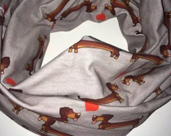 Flamingo infinity scarf - Pre-Order