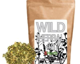 Wild Herbal Tea #8 - 8 Herb Tea - 8 Ingredient Blend by Wild Foods