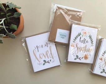 Greeting Card Bundle Variety Pack | Set of 5
