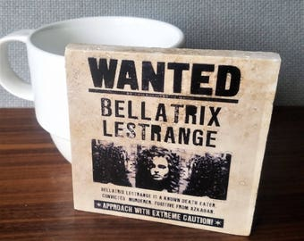 Bellatrix Lestrange Coaster, Harry Potter Coaster, Daily Prophet News