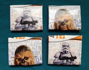 Recycled Star Wars Milk Box Wallets