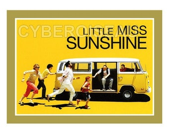Magnet Little miss Sunshine with combi Volkswagen VW Film