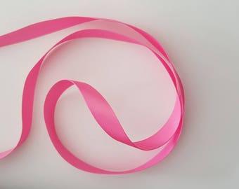 "Ribbon satin ""Rose"" 13mm"