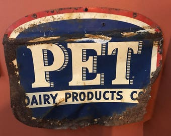 Pet Dairy Products Sign