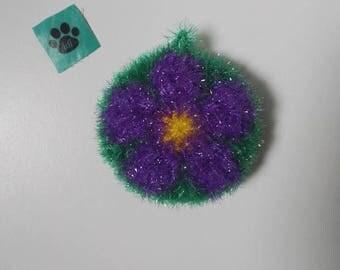 tawashi scrubbie kitchen/sponge ware/shower (green purple)