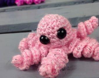 Tiny Pink Octopus