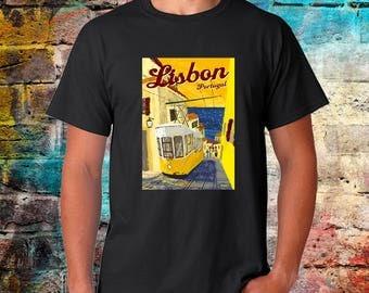 Lisbon Shirt, Lisbon, Portugal, Lisbon TShirt, Lisbon Gift, Lisbon Tee, Lisbon, Portugal Shirt, Portugese Art, Lisboa