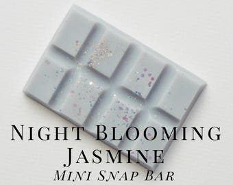 Soy Wax Melts, Night Blooming Jasmine, Scented Wax Tart, Soy Wax, Snap Bar, Soft, Floral